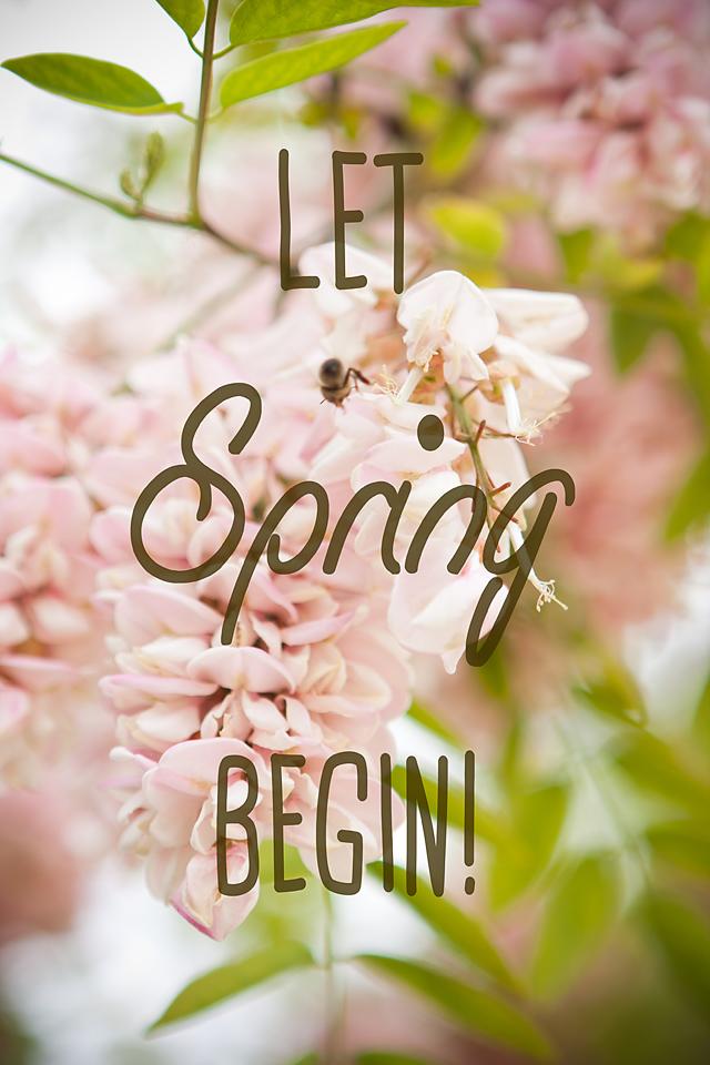 Lets spring begin