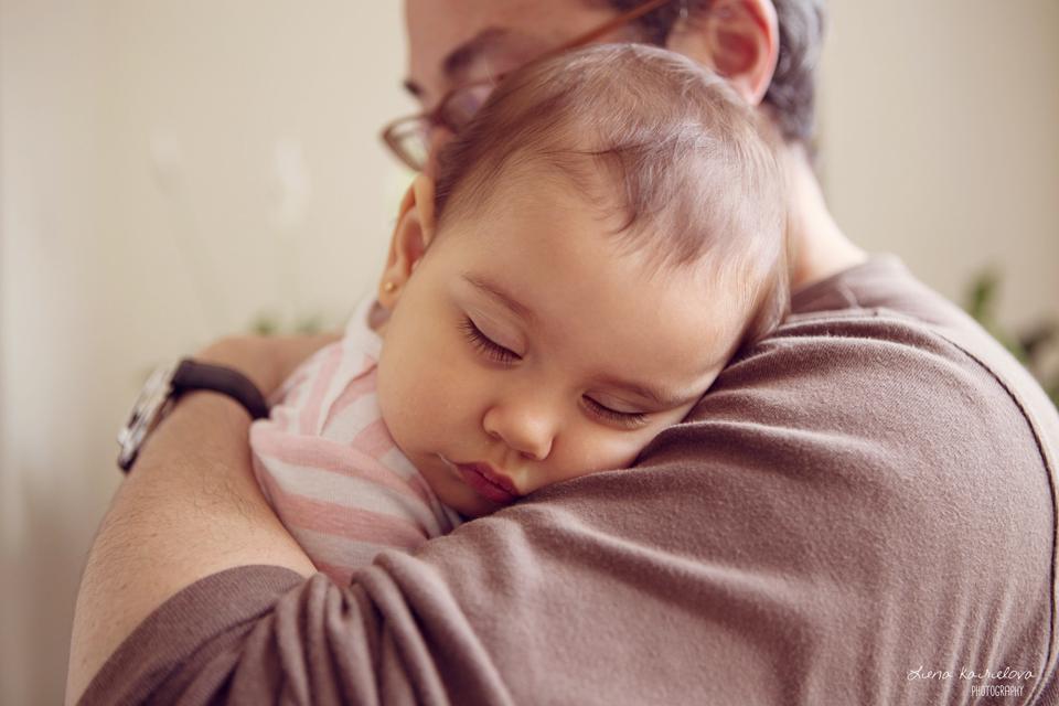 Sesión de fotos para Queral Itzel una bebe de 1 año en Barcelona - Fotografía de bebes Barcelona