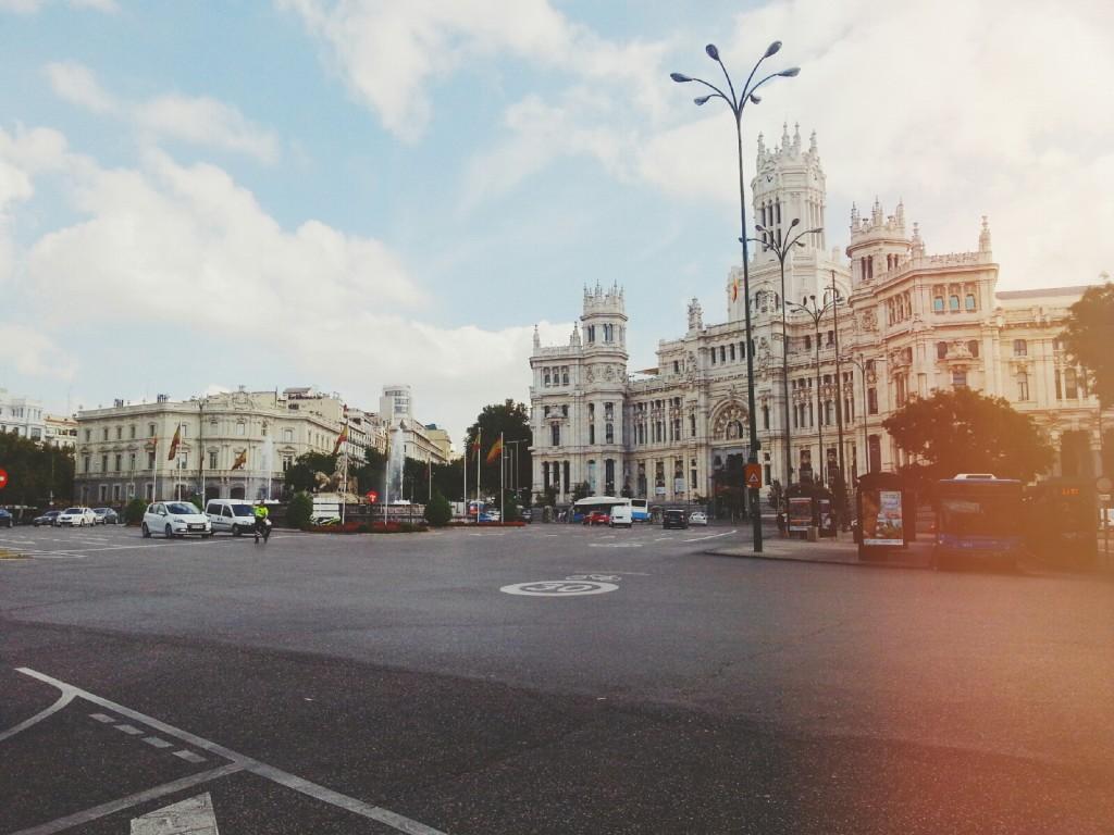 Madrid - Paseo del Prado, vscocam fotografías de Lena Karelova fotografía