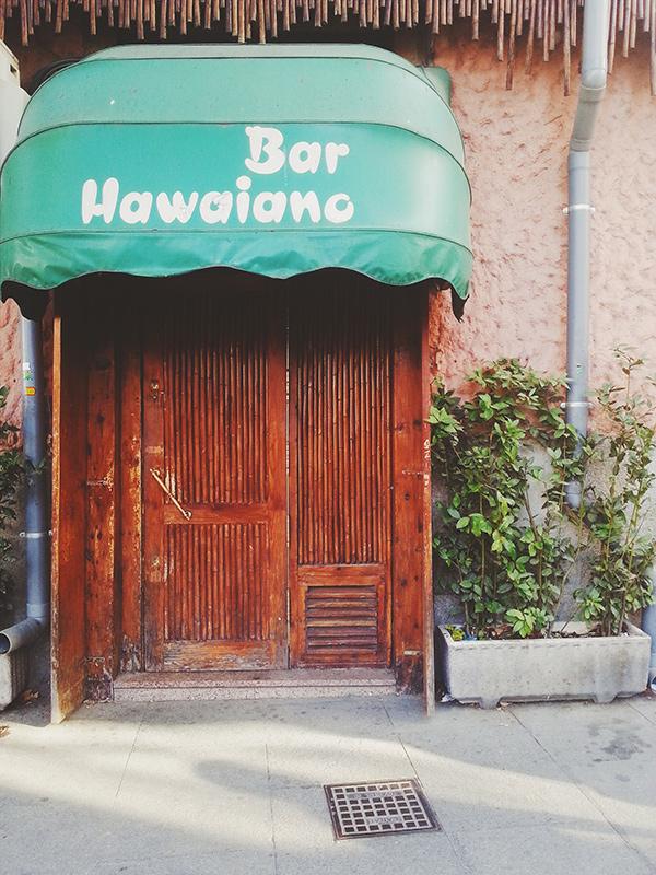 Madrid Bar Hawaiano, vsco process, Lena Karelova fotografía