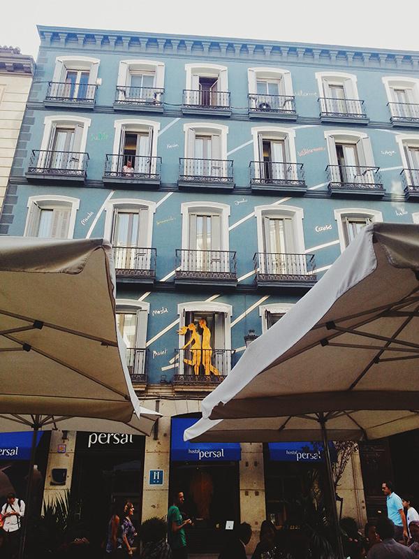 Paseando por Madrid, Lena Karelova fotografía