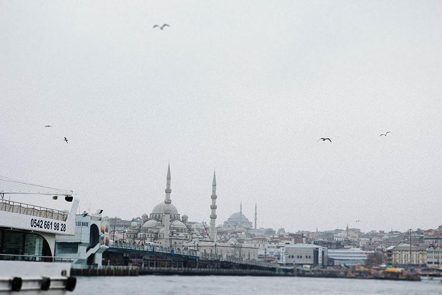 Bósforo - estrecho de Estambul. Lena Karelova fotografía y viajes