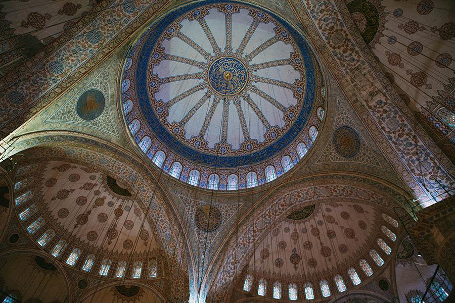 Mezquita Azul,Lena Karelova fotografía de viajes