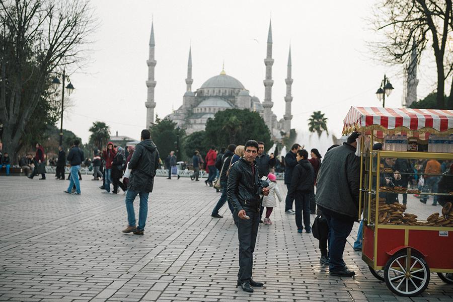 La Mezquita Azul, Estambul. Lena Karelova fotografía de viajes.