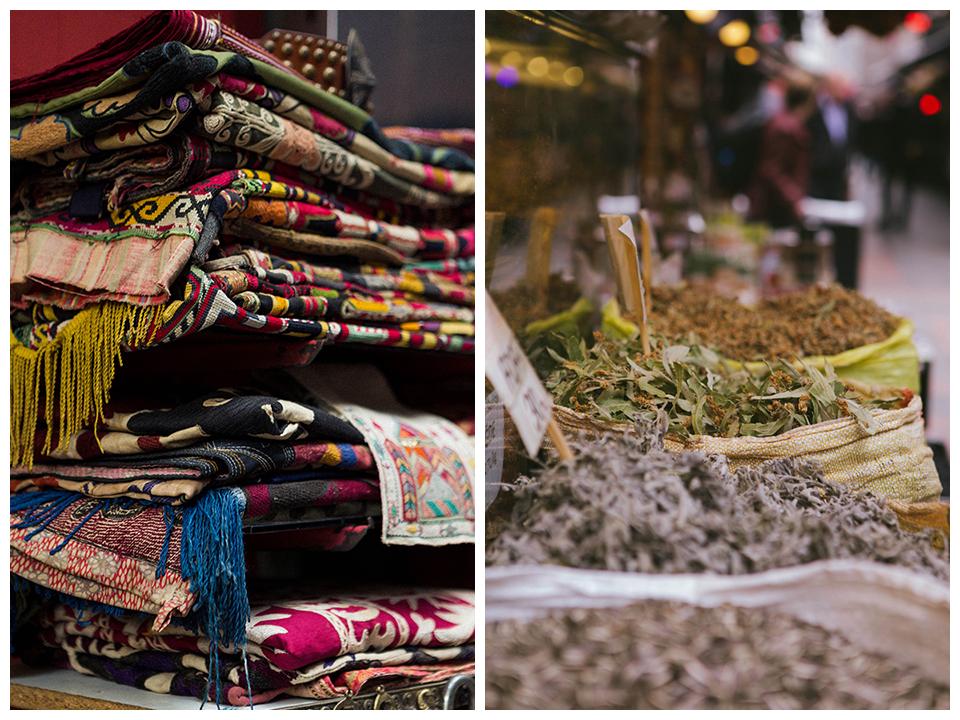 Típico Bazaar en Estambul.Lena Karelova fotografía de viajes