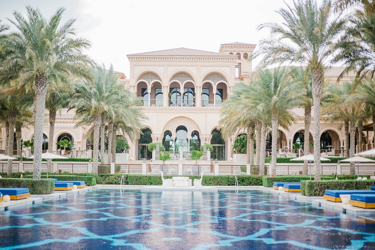 One and only hotel in Dubai Palma Jumeirah