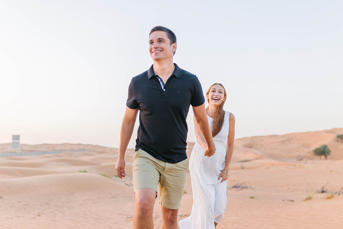 Maternity photoshoot in Dubai of Alona and Alex