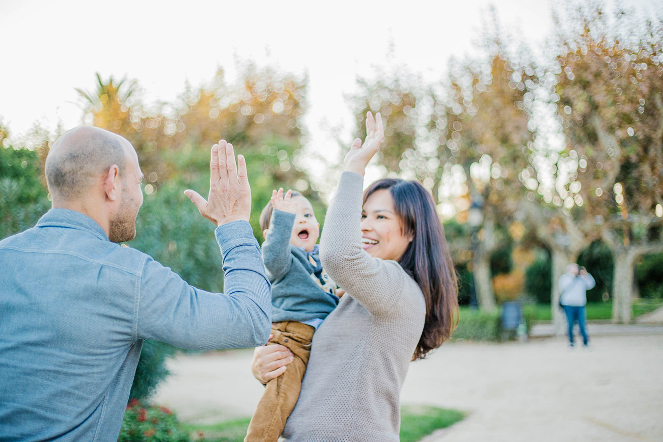 Barcelona family photo shoot - Lena Karelova Photography