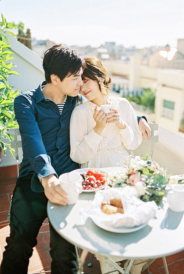 Honeymoon photoshoot | Fin Art Photographer | Lena Karelova Photography | Barcelona Film Wedding Photographer