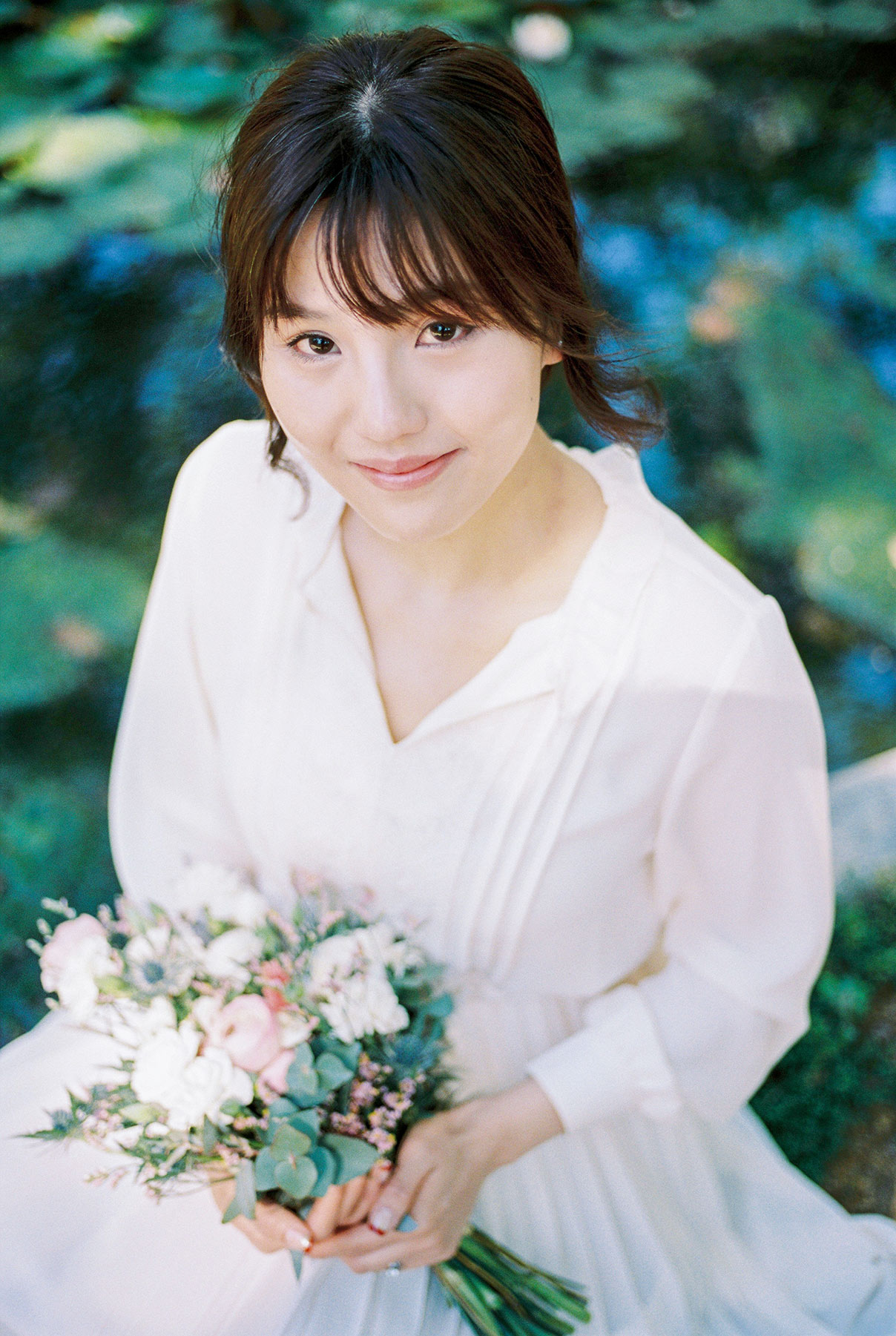 Beautiful young woman | Fin Art Photographer | Lena Karelova Photography | Barcelona Film Wedding Photographer