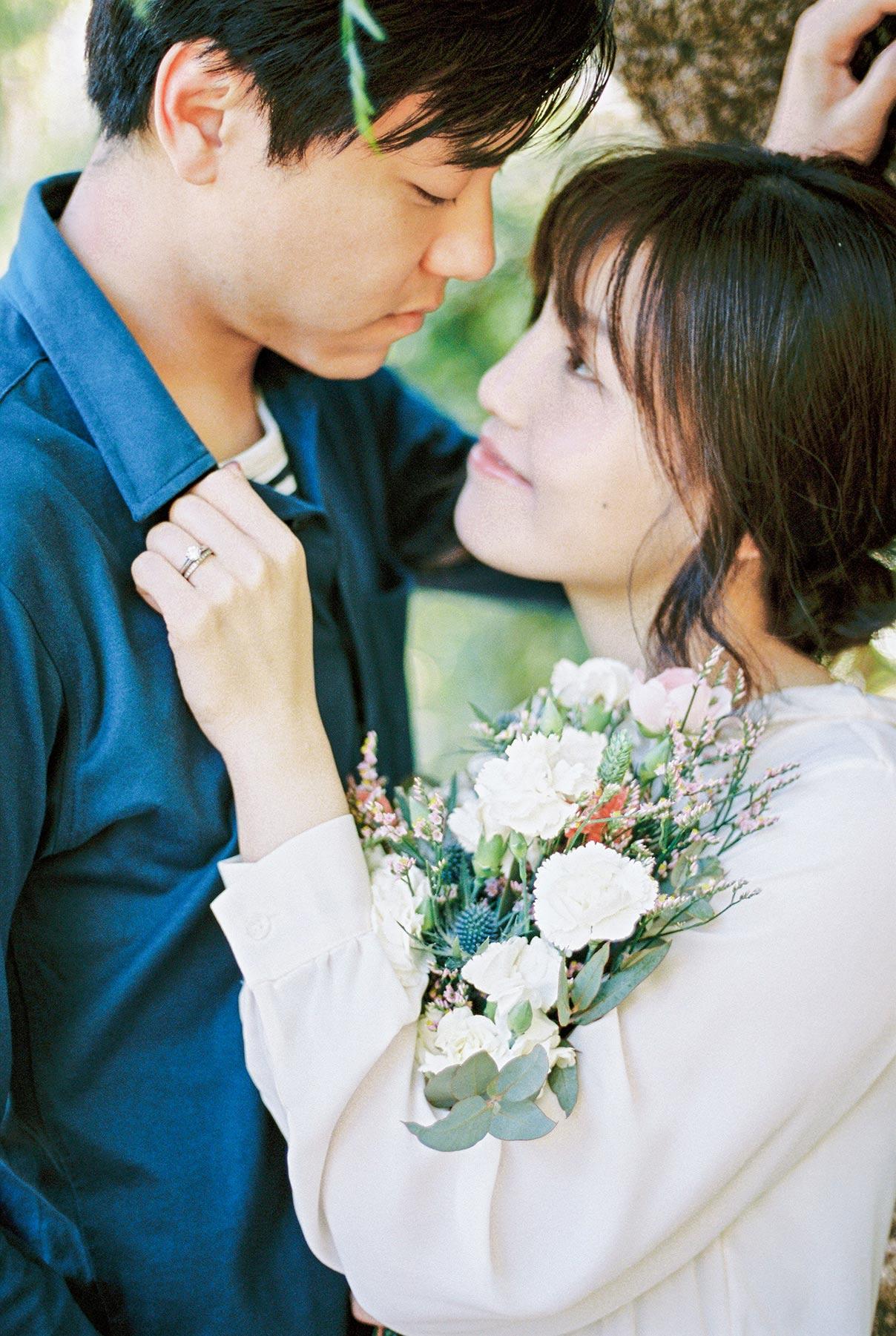 Beautiful young couple | Fin Art Photographer | Lena Karelova Photography | Barcelona Film Wedding Photographer