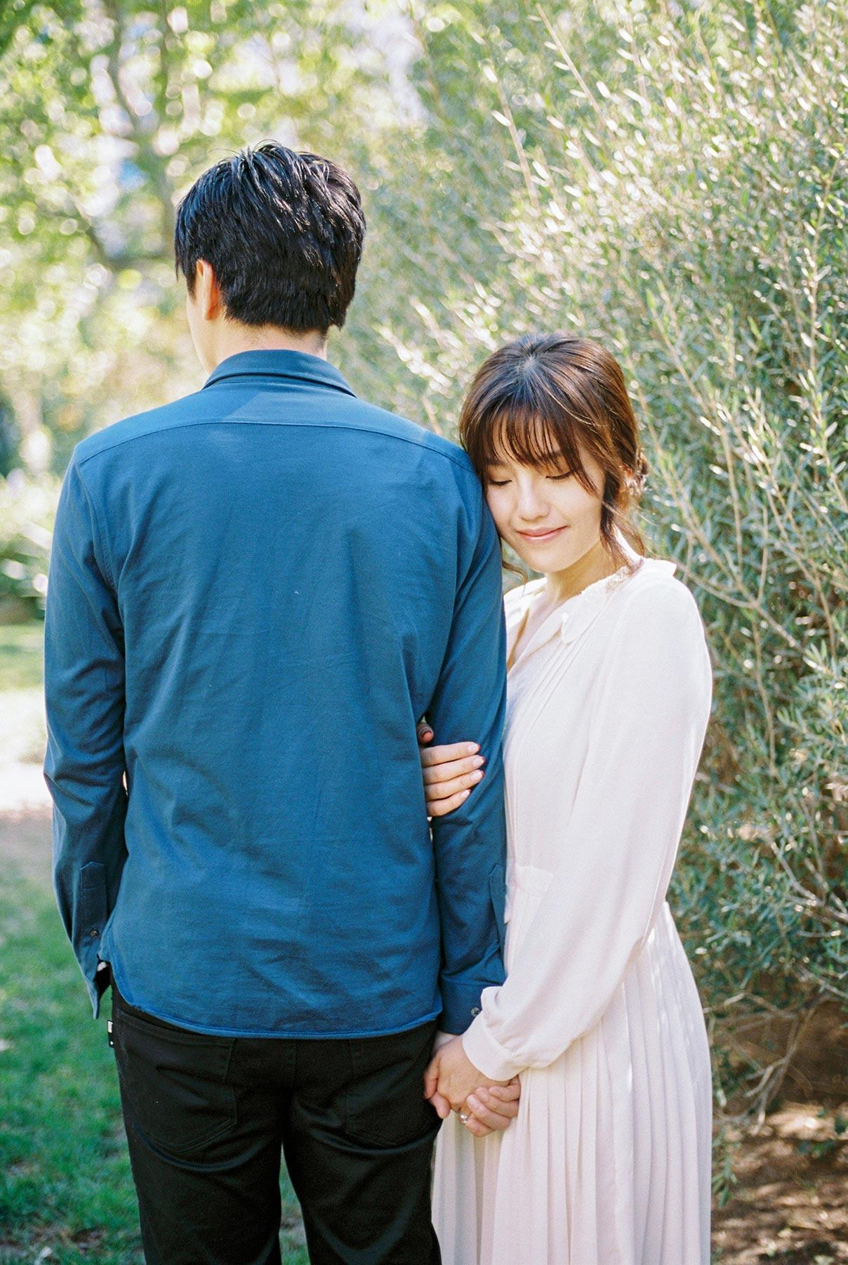 Lovely romantic couple| Engagement photographer | Fin Art Photographer | Lena Karelova Photography | Barcelona Film Wedding Photographer