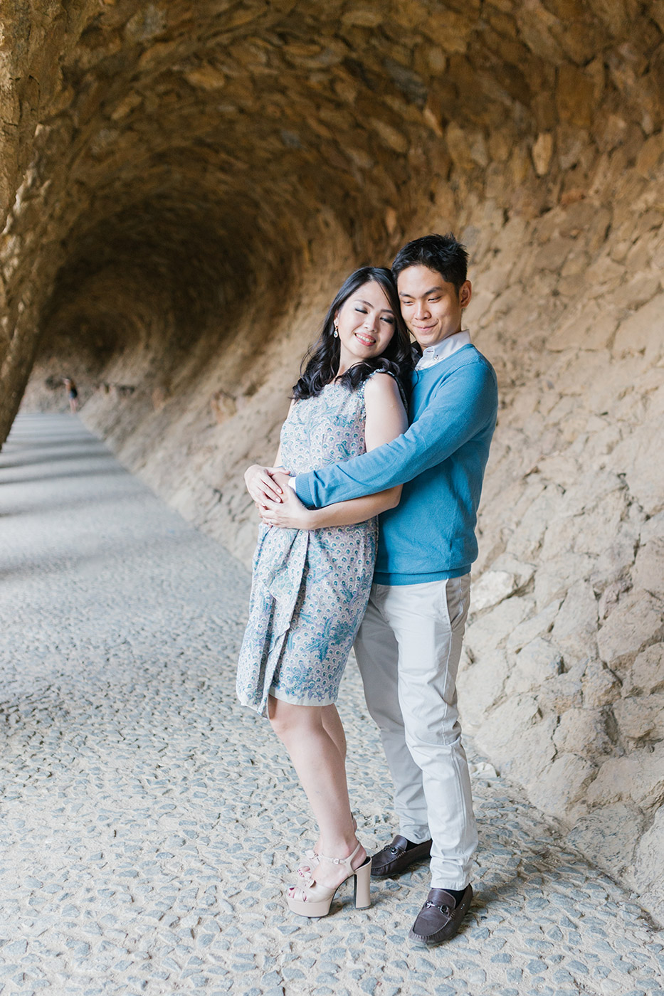 Beautiful young couple | Fine Art Photographer | Lena Karelova Photography | Engagement Photographer Barcelona