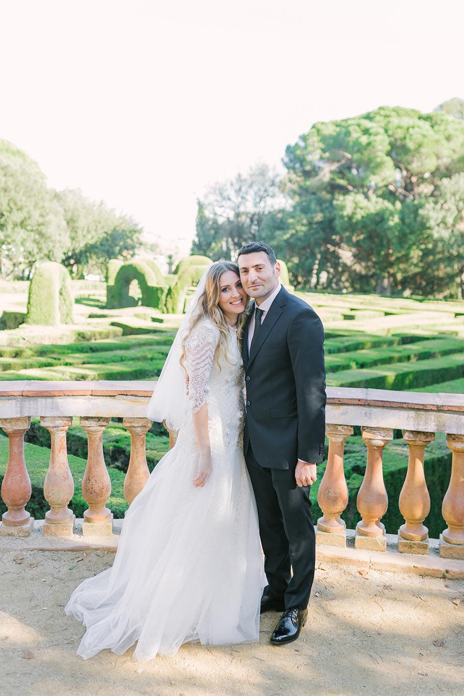 Lovely romantic couple | Fine Art Photographer | Lena Karelova Photography | Destination Wedding Photographer Barcelona | Film Wedding Photographer