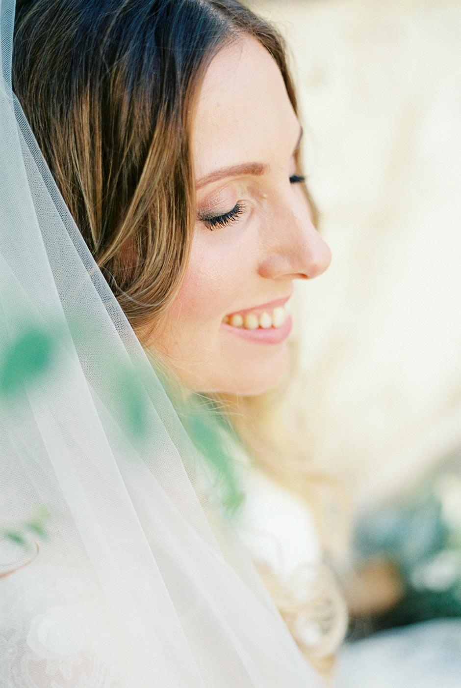 Bride's portrait | Fine Art Photographer | Lena Karelova Photography | Destination Wedding Photographer Barcelona |Film Wedding Photographer
