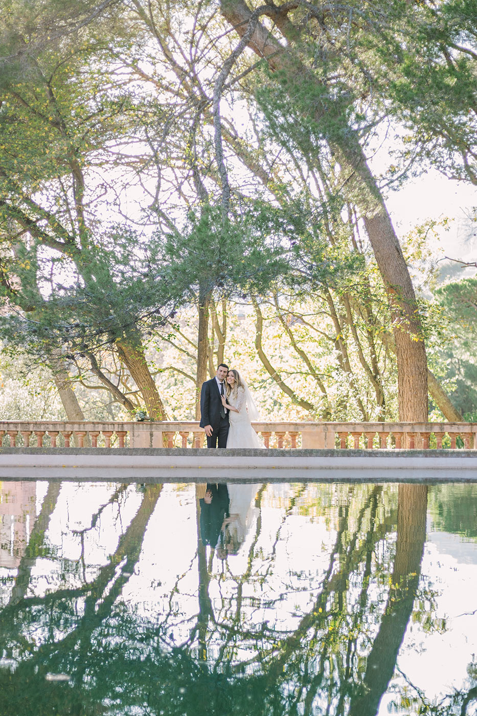 Enghagement photo in Barcelona | Fine Art Photographer | Lena Karelova Photography | Destination Wedding Photographer Barcelona |Film Wedding Photographer