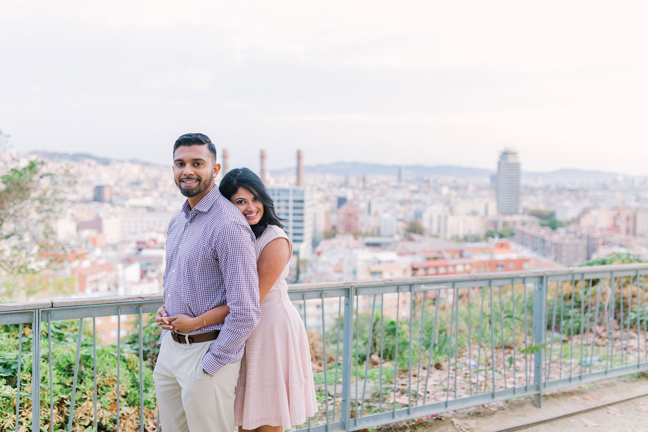 Beautiful young couple | Destination Wedding Photographer Barcelona | Lena Karelova Photography|Film Wedding Photographer